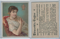 K Card, Dilworth Coffee, 1890's, Women, 6
