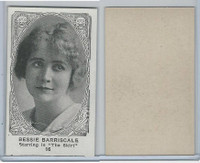 W585, Movie Stars, Blank Backed, 1921, #16 Bessie Barriscale