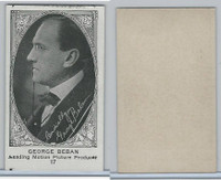 W585, Movie Stars, Blank Backed, 1921, #17 George Beban