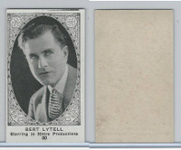 W585, Movie Stars, Blank Backed, 1921, #30 Bert Lytell