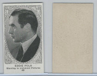 W585, Movie Stars, Blank Backed, 1921, #43 Eddie Polo