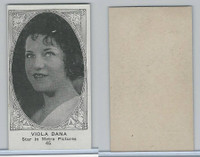 W585, Movie Stars, Blank Backed, 1921, #45 Viola Dana
