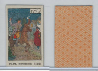 W Card, Mayfair Novelty, American History, 1919, 1775 Paul Revere