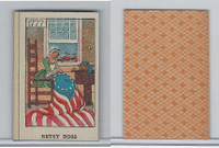 W Card, Mayfair Novelty, American History, 1919, 1777 Betsy Ross Flag