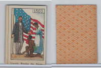 W Card, Mayfair Novelty, American History, 1919, 1863 Lincoln Free Slaves