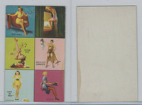 W424-2f Mutoscope, Yankee Doodle Girls, 1942, Six Images (2)