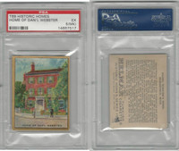 T69 Helmar, Historic Homes, 1910, Home of Daniel Webster, PSA 5 MK EX