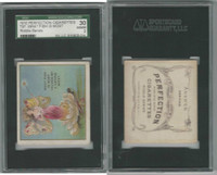 T97 Perfection, Riddle Series, 1910, What Fish Is Most, SGC 30 Good