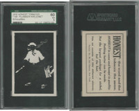 T100 Honest Tobacco, Silhouettes, 1910, Plumber With Bucket, SGC 60 EX