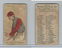 N22 Allen & Ginter, Racing Colors of the World, 1888, Count W. Kawnitz