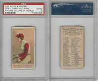 N22 Allen & Ginter, Racing Colors of the World, 1888, G.Owen Williams, PSA 2