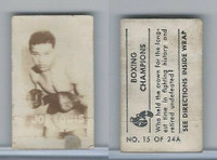 1949 Topps, Magic Photos, Boxing Champions, A #15 Joe Louis