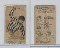 N22 Allen & Ginter, Racing Colors of the World, 1888, Count Lehndorff