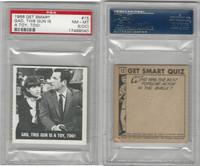 1966 Topps, Get Smart, #15 Gad, This Gun Is A Toy, PSA 8 OC NMMT