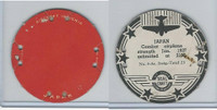 M30 St. Louis Globe, Seal Craft Disc, 1930's, Aircraft Ins., #5 Japan