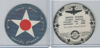 M30 St. Louis Globe, Seal Craft Disc, 1930's, Aircraft Ins., #14 United States