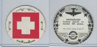 M30 St. Louis Globe, Seal Craft Disc, 1930's, Aircraft Ins., #16 Switzerland