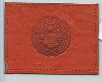 L20 American Tobacco Leather, College Seals, 1912, Bucknell (orange)
