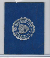 L20 American Tobacco Leather, College Seals, 1912, California (Blue)