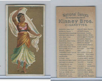 N225 Kinney, National Dances, 1889, Bayadere, East Indian