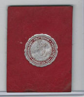 L20 American Tobacco Leather, College Seals, 1912, Rensselear (Red)