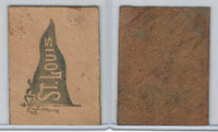 L22 American Tobacco Leather, College Pennants, 1912, St. Louis