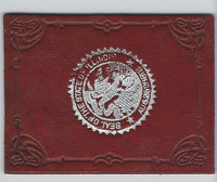 L23 American Tobacco Leather, State Seals, 1912, Illinois (Red)