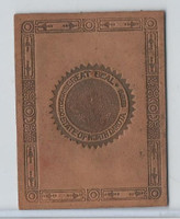 L23 American Tobacco Leather, State Seals, 1912, North Dakota (Tan)