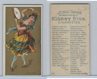 N225 Kinney, National Dances, 1889, Bolero, Spain