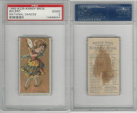 N225 Kinney, National Dances, 1889, Bolero, Spain, PSA 2 Good