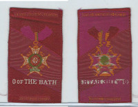 S17 ATC Silk, Military & Lodge Medals, 1910, O. Of The Bath