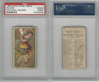 N225 Kinney, National Dances, 1889, Bolero, Spain, PSA 2 MK Good