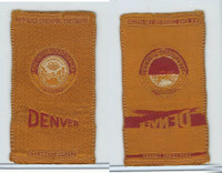 S25 American Tobacco Silk, College Seal, 1910, Denver University