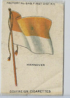 S33 American Tobacco Silk, National Flags, 1910, Hannover