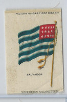 S33 American Tobacco Silk, National Flags, 1910, Salvador