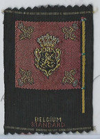 S39-1 American Tobacco Silk, Flags & Arms, 1910, Belgium Standard
