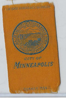S90 American Tobacco Silk, City Seals, 1910, Minneapolis