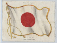 S32 American Tobacco Silk, National Flags, 1910, Japan (4 X 5.5 in)