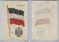 S35 American Tobacco Silk, Flags & Arms, 1910, Germany (3 X 5 in)