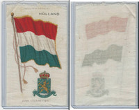 S35 American Tobacco Silk, Flags & Arms, 1910, Holland (3 X 5 in)