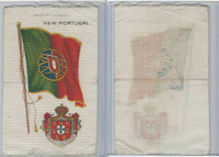 S35 American Tobacco Silk, Flags & Arms, 1910, New Portugal (3 X 5 in)