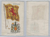 S35 American Tobacco Silk, Flags & Arms, 1910, Scotland (3 X 5 in)