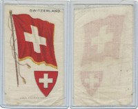 S35 American Tobacco Silk, Flags & Arms, 1910, Switzerland (3 X 5 in)