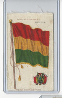 S36 American Tobacco Silk, Flags & Arms, 1910, Bolivia