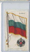 S36 American Tobacco Silk, Flags & Arms, 1910, Russia
