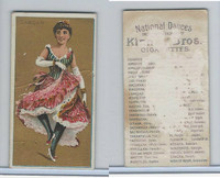 N225 Kinney, National Dances, 1889, Cancan, France
