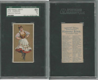 N225 Kinney, National Dances, 1889, Csardas, Hungary, SGC 60 EX