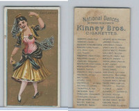 N225 Kinney, National Dances, 1889, Fandango Female, Spain