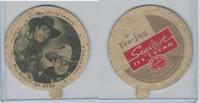 F5-8 Dixie Cup, 1942, Movie Stars, Bill Elliott & Tex Ritter