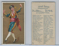 N225 Kinney, National Dances, 1889, Fandango Male, Spain
